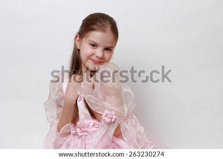 Sweet princess - stock photo