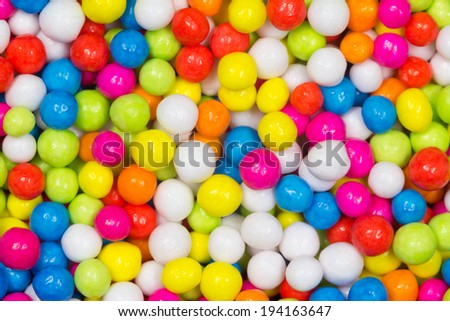 Sweet rainbow candy for background