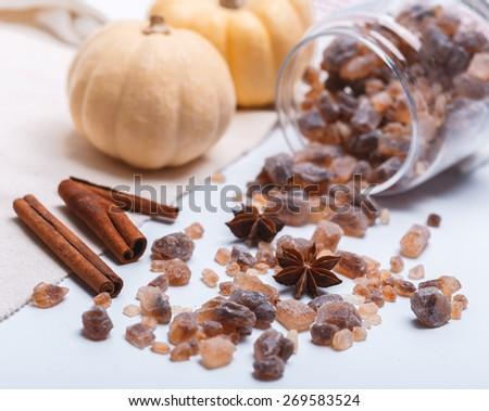 sweet sugar - stock photo