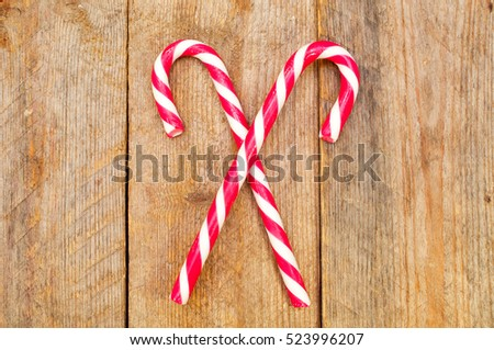 Sweet traditional Christmas candy