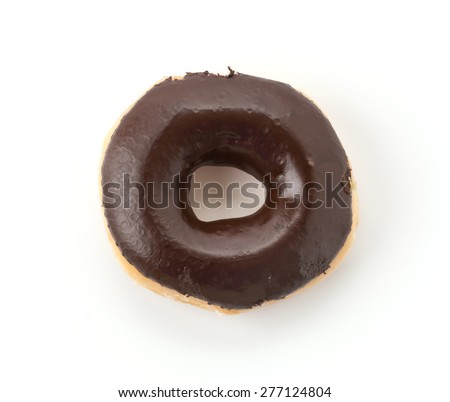 sweeties donut on white background