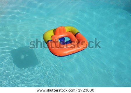 swimming float - stock photo