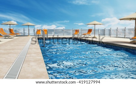 Rooftop Pool Stock Images Royalty Free Images Vectors Shutterstock