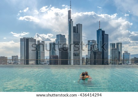 rooftop pool stock images royalty free images vectors. Black Bedroom Furniture Sets. Home Design Ideas