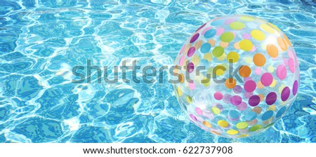 Swimming pool, Summer time, Vacation