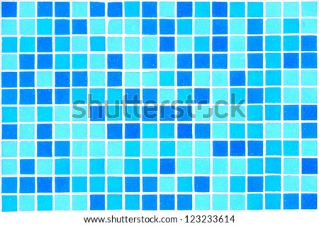 Swimming pool texture background. Blue color
