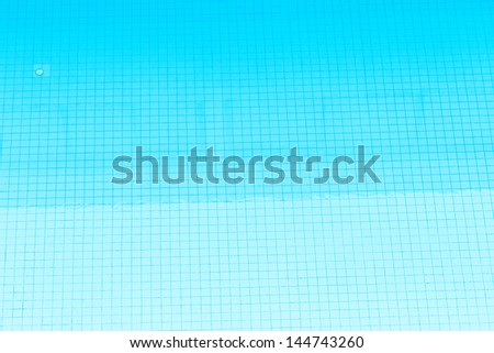Swimming pool top view as background - stock photo