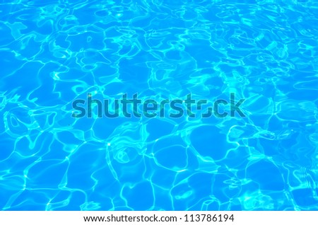 Swimming pool water background - stock photo