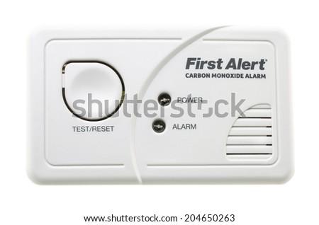 swindon uk july 13 first alert co carbon monixide alarm on - First Alert Carbon Monoxide Detector