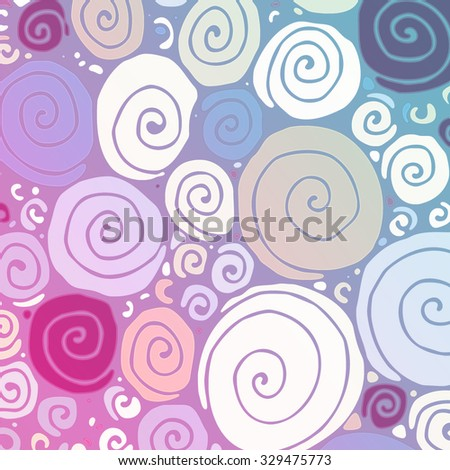 Swirl watercolor abstract hand painted background. Colorful aquarelle textures. Bubbles pattern. Graphic art design elements for website or brochure headers or sidebars.