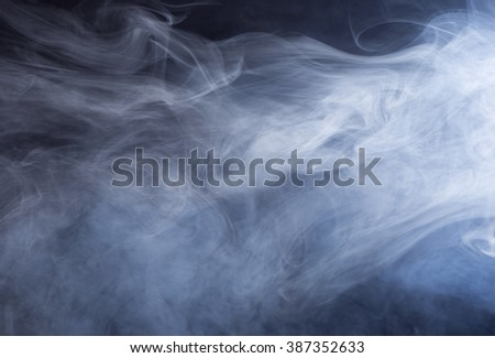 Swirling glowing smoke for an abstract background