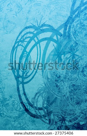 Swirly abstract grunge textured background wallpaper illustration