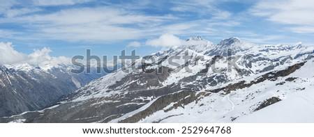 Swiss Alps - stock photo