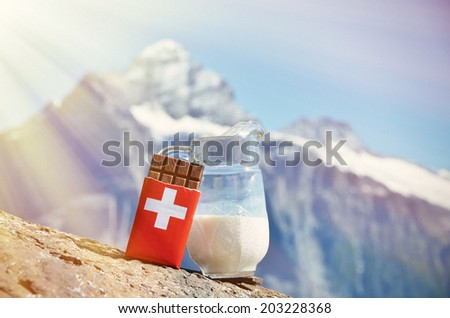 Swiss Chocolate Stock Photo 44675527 - Shutterstock