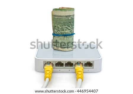 Switch to split the Internet into multiple lines and save money