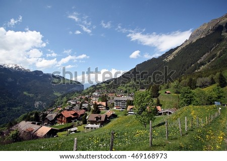 Switzerland view