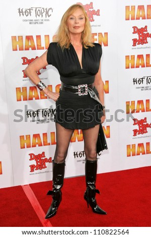 """Sybil Danning at the Los Angeles Premiere of """"Halloween"""". Grauman's Chinese Theatre, Hollywood, CA. 08-23-07 - stock photo"""