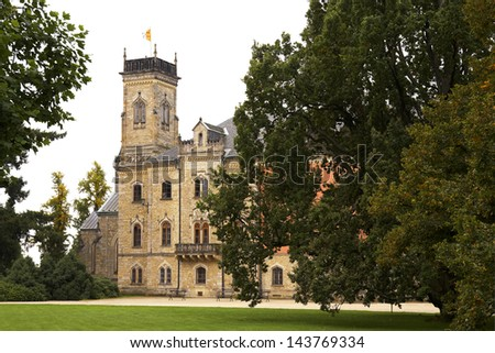 Sychrov chateau. Czech republic.