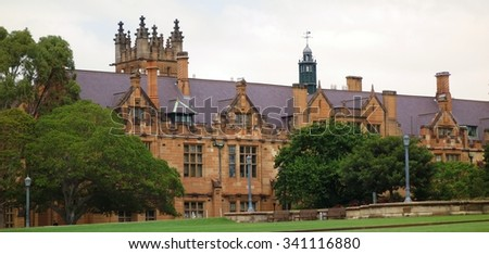 SYDNEY, AUSTRALIA -17 DEC 2014- The University of Sydney (USYD) is an Australian public research university located in downtown Sydney in New South Wales.