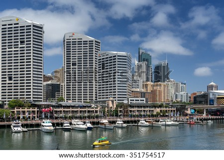 Sydney, Australia on 10th DEC 2015: Price Waterhouse Coopers  is the world's largest accountancy firm  measured by  revenue and is a network of firms in 157 countries,756 locations and  208,100 staff.