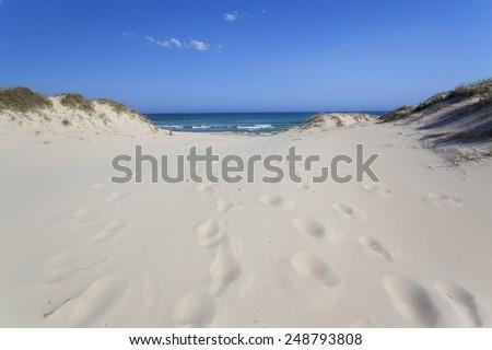 Sydney conjola Beach - stock photo