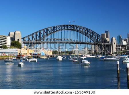 Sydney Harbour in Australia - stock photo