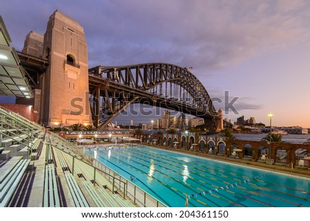 sydney july 7 north sydney olympic pool australia on july 7 2014 - Olympic Swimming Pool 2014