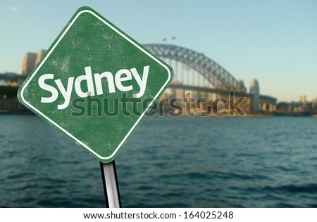 Sydney Sign, Australia - Oceania - stock photo