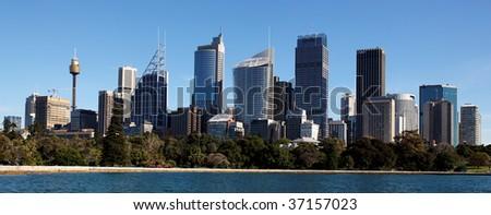 Sydney Skyline, Australia - stock photo