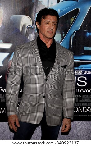 "Sylvester Stallone at the Los Angeles Premiere of ""His Way"" held at the Paramount Pictures Studios in Los Angeles, California, United States on March 22, 2011."
