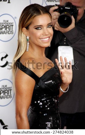 Sylvie Meis at the 2015 Film Independent Spirit Awards held at the Santa Monica Beach in Santa Monica on February 21, 2015.  - stock photo