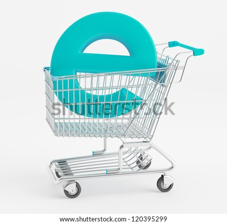 Symbol e-commerce shopping cart