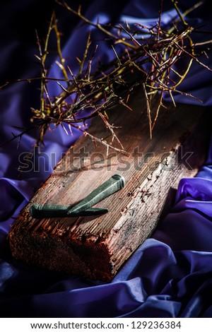 symbol resurrection - stock photo