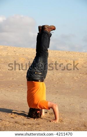 symnastics - stock photo