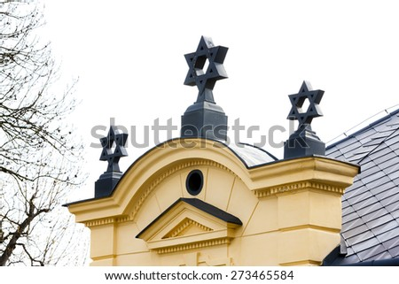 synagogue, Trebic, Czech Republic - stock photo