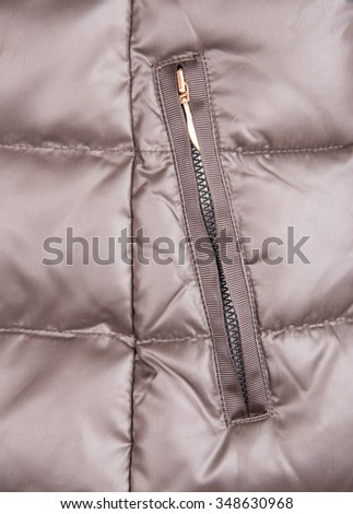 Synthetic fabric close up - stock photo