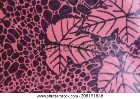 synthetic leather texture - stock photo