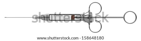 syringe - stock photo