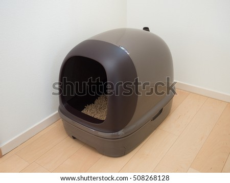 System toilet for cats