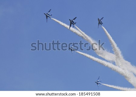 T-4 Blue Impulse acrobatic