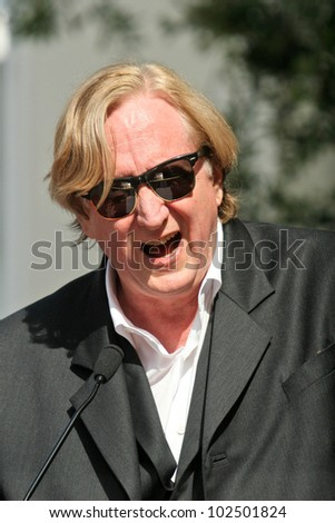 T-Bone Burnett at the induction ceremony for Roy Orbison  into the Hollywood Walk of Fame, Hollywood, CA. 01-29-10