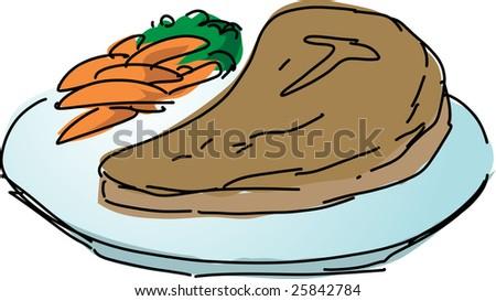 Steak Cartoons  Easy Downloads  Recent 13  Buy at