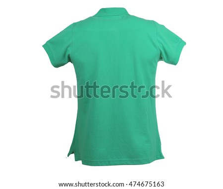 T-Shirt is green color