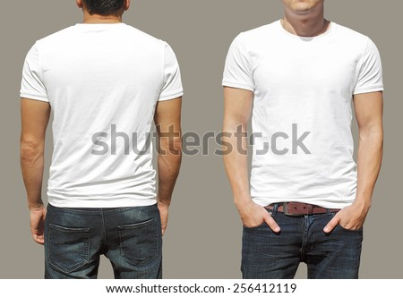 Tshirt Template Stock Photo 256412119 - Shutterstock