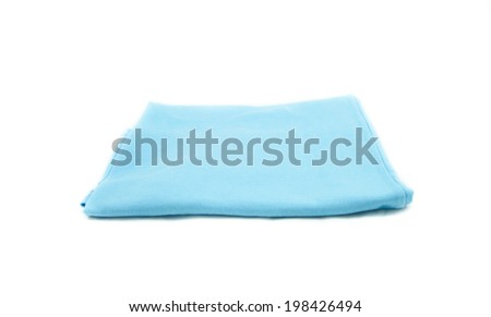 t-shirts on the white background - stock photo