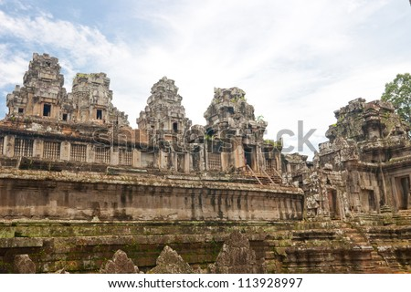 Ta Keo,siem reap ,Cambodia, was inscribed on the UNESCO World Heritage List in 1992.