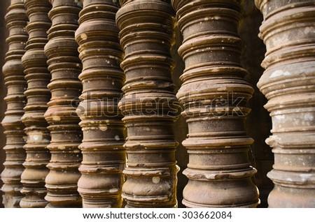 Ta Keo temple, Angkor - stock photo