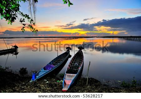 Ta Le Noy, Phattalung, Thailand - stock photo