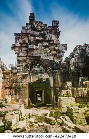 ta prohm,siem reap ,Cambodia,  - stock photo