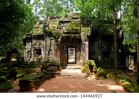 Ta Som,siem reap ,Cambodia, was inscribed on the UNESCO World Heritage List in 1992.